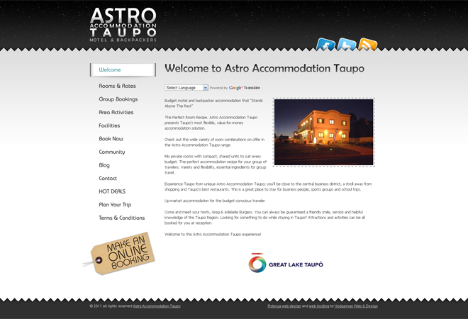 Astro Accommodation Taupo