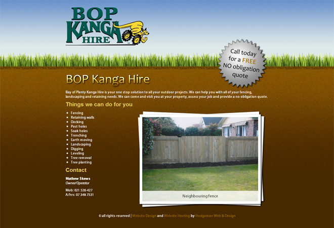 Bay of Plenty Kanga Hire