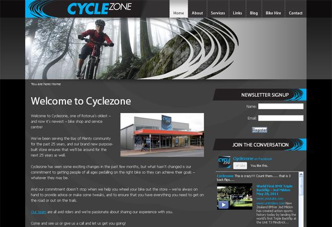 Cyclezone Rotorua: Cyclezone Rotorua