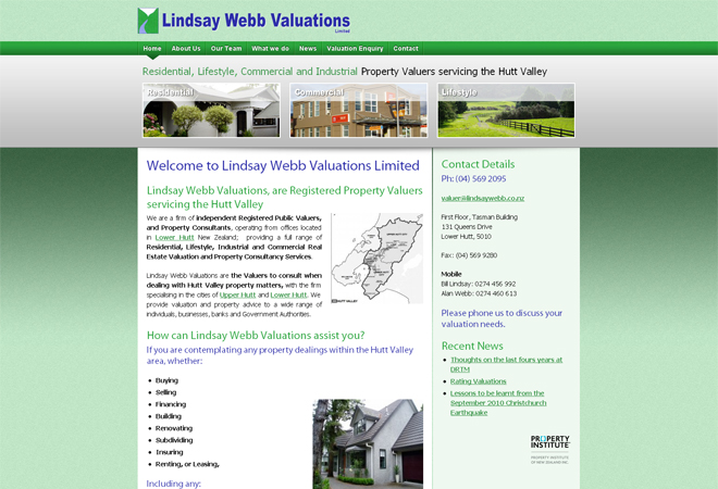 Lindsay-Webb-Valuations-Limited