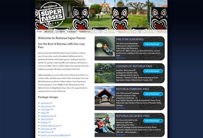 Rotorua Super Passes: Homepage