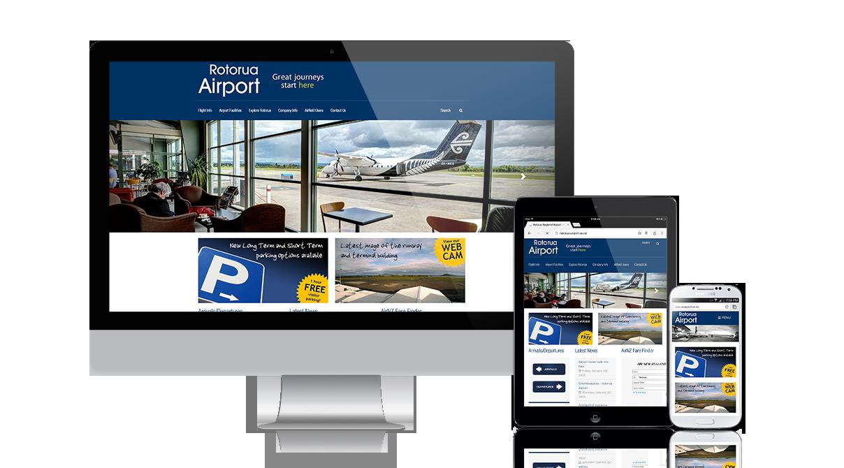 Rotorua Regional Airport: 2015 Responsive update