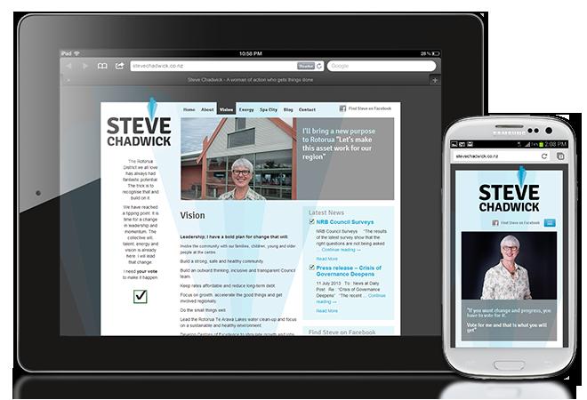 Steve Chadwick – Responsive design