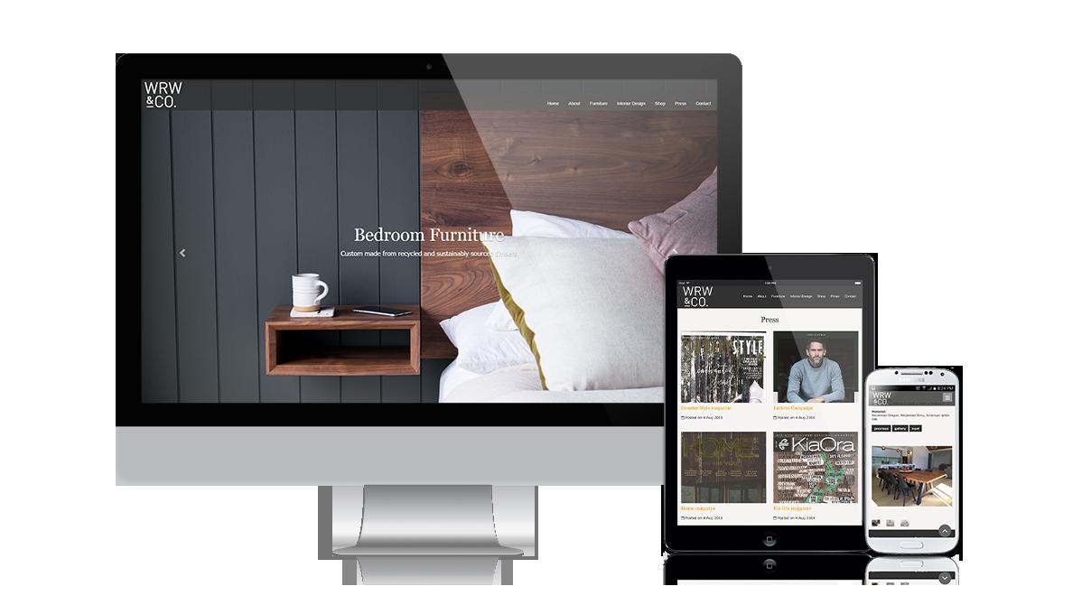 WRW & Co Ltd.: Responsive design