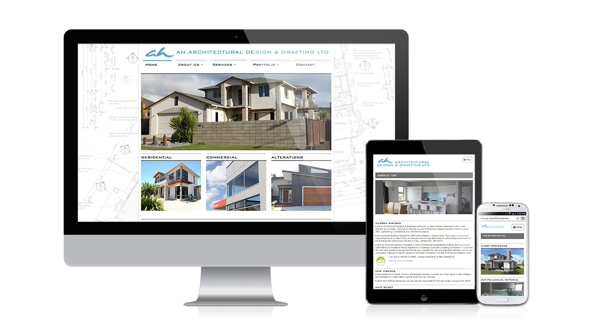 AH Architectural Design & Drafting: Responsive design