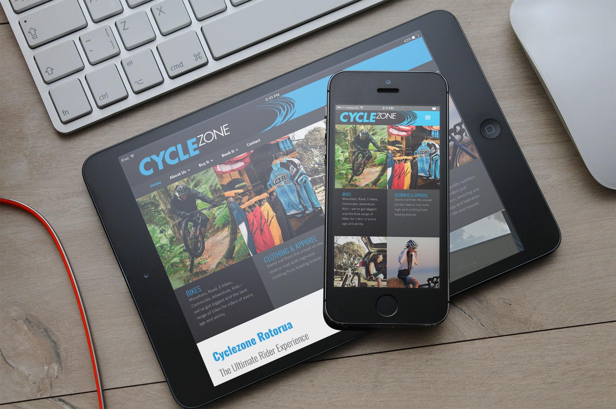 Cyclezone Rotorua: responsive_cyclezone