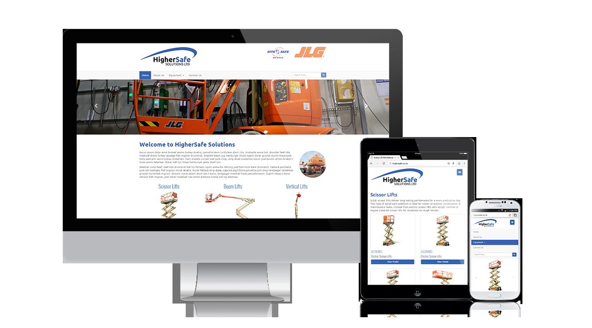 HigherSafe Solutions: Fully responsive design