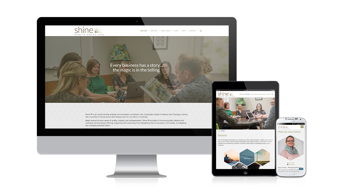 Shine Collective: responsive_shinepr