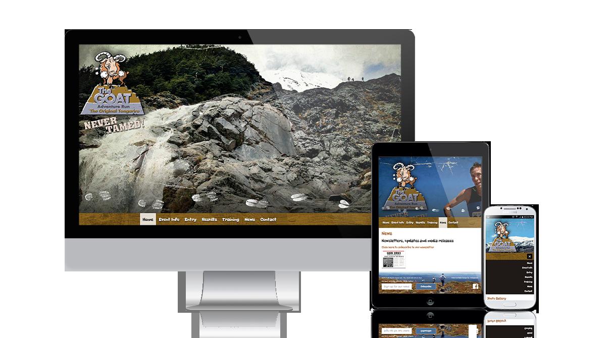 The Goat - Tongariro Adventure Run: responsive_thegoat